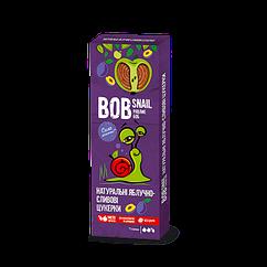 Натуральні фруктово-ягідні цукерки Яблоко-Слива Bob Snail, 30г
