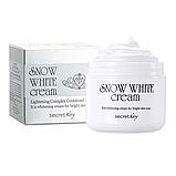Осветляющий питательный крем для лица SECRET KEY Snow White Cream, 50 мл, фото 2