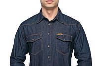 Джинсовая мужская рубашка Montana 50010