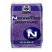 Комплексное удобрение Нова Тек Премиум NPK 15-3-20+МЕ, 25 кг