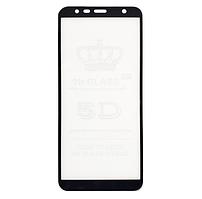 Защитное стекло GLS 5D Full Glue для Samsung J415 (J4 Plus 2018) черное 0,3 мм в упаковке