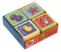 Мини-книжки. Сравнение предметов. Комплект 4 книги. Серия IQ игры.