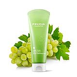 Зменшує пори мило-скраб з зеленим виноградом FRUDIA Green Grape Pore Control Scrub Cleansing Foam, 145 мл, фото 2