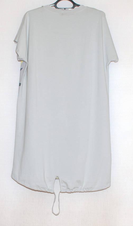 Туніка сукні великого розміру XL-5XL, фото 2