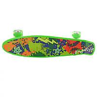 Скейт MS 0749-1 (Зелёный)