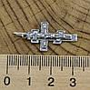 Серебряный крест Старокиевский Спаси и сохрани размер 30х14 мм вес 1.79 г, фото 3