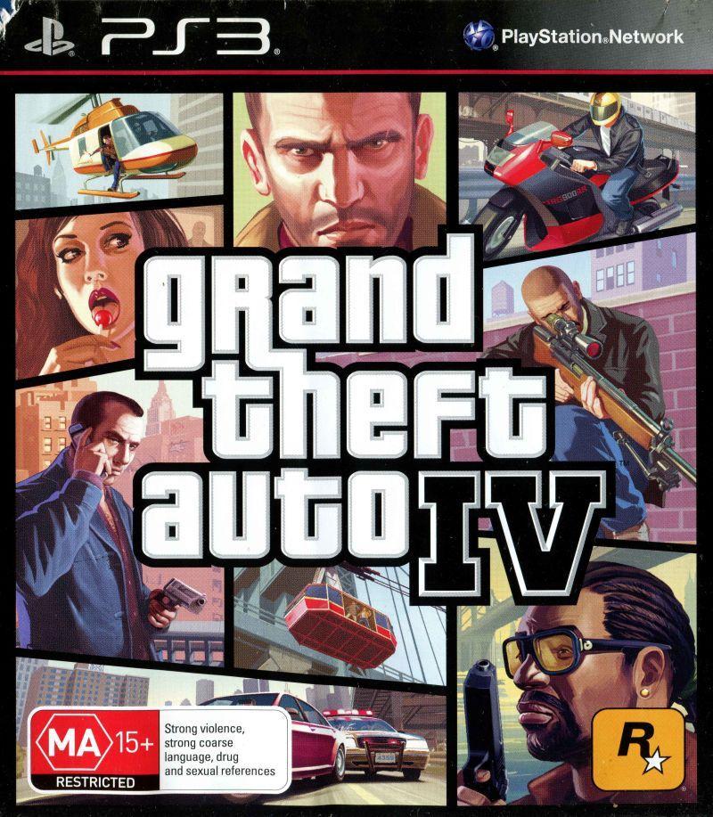 Игра для игровой консоли PlayStation 3, Grand Theft Auto IV (БУ)