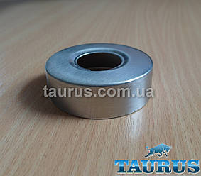 """Круглий об'ємний декоративний фланець D60 / висота 18 мм із нержавіючої сталі, внутрішній розмір 3/4"""" (D25 мм)"""