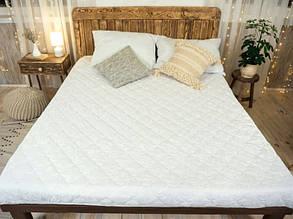 Наматрасник с бортами Leleka-Textile 120х200 см Белый (1005211)