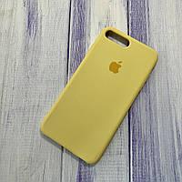 Чохол Silicone Case Apple iPhone 7 Plus/8 Plus Yellow