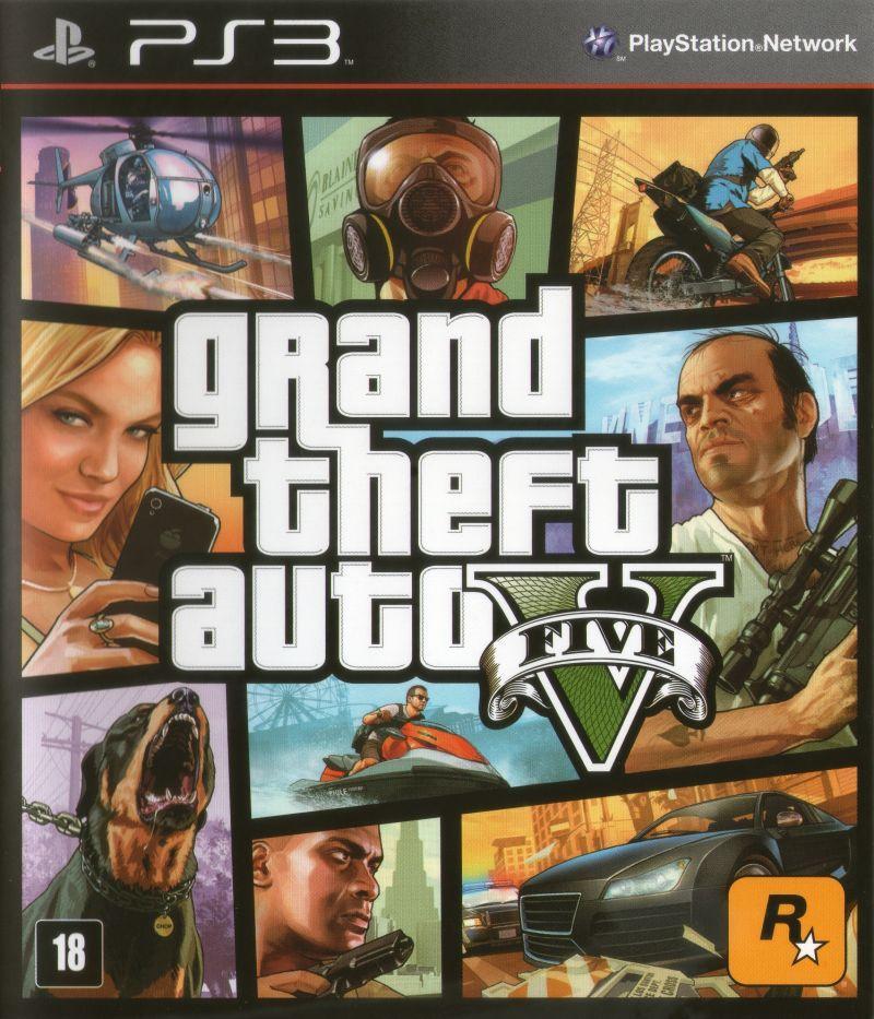 Игра для игровой консоли PlayStation 3, Grand Theft Auto V (БУ)