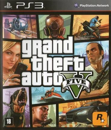 Игра для игровой консоли PlayStation 3, Grand Theft Auto V (БУ), фото 2