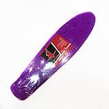 Доска для скейтборда (пенни борда) Profi  MS-0848-5, фото 6