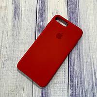 Чехол Silicone Case Apple iPhone 7 Plus/8 Plus Red