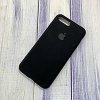 Чехол Silicone Case Apple iPhone 7 Plus/8 Plus Black