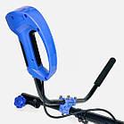 Электрокоса Гомель КГ-2700 (цілісна штанга, велосипедні ручки). Тример Гомель, фото 3