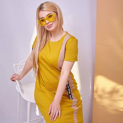 Простое платье больших размеров, фото 2