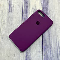 Чехол Silicone Case Apple iPhone 7 Plus/8 Plus Purple Eggplant