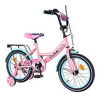 Детский велосипед Explorer 16, «Tilly» (T-216116), цвет Pink Blue (розовый с голубым)