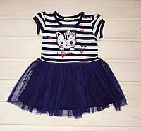 Платье летнее для девочки Размеры 86 104