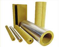 Теплоизоляция (утеплитель) для дымоходов и газозодов (Базальтовая скорлупа)