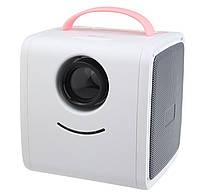 Портативный детский мини проектор Kids Story Projector Q2