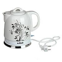 Электрочайник керамический A-PLUS 1.5 л чайник электрический