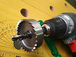 Коронка по металлу Р6М5 для дрели__16 мм//км-016