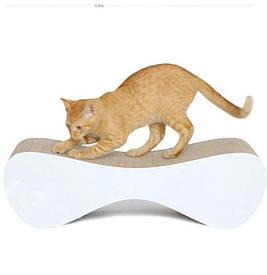 Когтеточка (дряпка) - лежанка для кошек AC-B 61х21х24см