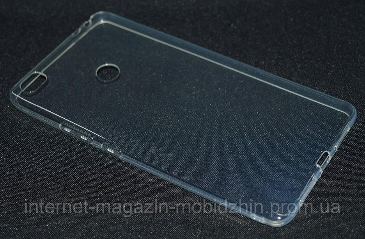 Чехол силиконовый Xiaomi Mi Max прозрачный ультра