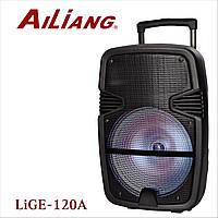 Колонка Комбоусилитель Ailiang LIGE-120A Колонка с радиомикрофоном и пультом-ДУ