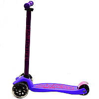 Самокат детский трехколесный Micmax Фиолетовый (SC17081), фото 4