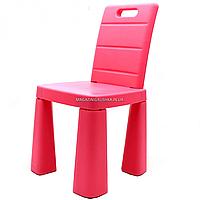 Стульчик-табурет детский Doloni-toys, розовый, 30х30х60 см (04690/3)
