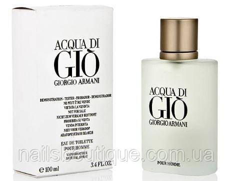 Тестер Acqua di Gio Giorgio Armani 50 ml (ОАЭ)  Мужской
