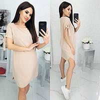 Платье летнее арт. N176 бежевое / беж / бежевого цвета