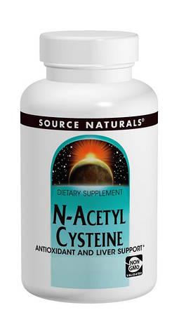 NAC (N-Ацетил-L-Цистеин) 600мг, Source Naturals, 60 таблеток, фото 2