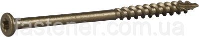 Саморез для террасной доски 4,8х75, покр. Сorrseal, TX20 упак. - 250 шт, Швеция