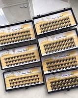 Накладные ресницы 20D 6-14мм (Цена от 10шт - 53грн) Nesura QSTY 20Д изгиб C