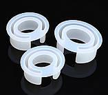 Молд силиконовый Браслет разрезной 62х32 мм форма для заливки, фото 2