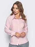 Блузка классического кроя с длинным рукавом, фото 8
