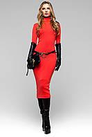 Платье Длинное Ангора Красное S-XL