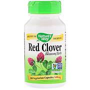 Красный Клевер, Red Clover, Nature's Way, 400 мг, 100 Вегетарианских Капсул