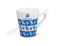 Чашка с норвежским орнаментом Нанесение логотипа