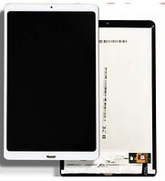 Дисплей (экран) для Xiaomi Mi Pad 4 Plus с сенсором (тачскрином) белый Оригинал