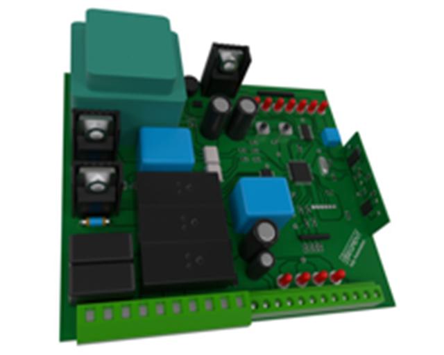 Плата управления распашными воротами Segment 220VAC SG 232/233/244/S/M