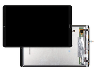 Дисплей (экран) для Xiaomi Mi Pad 4 Plus с сенсором (тачскрином) черный со шлейфом сканера отпечатка