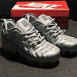 🔥 Кроссовки Nike Air Vapormax Plus Silver Найк Аир Плюс 🔥 Найк мужские кроссовки 🔥, фото 5