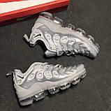 🔥 Кроссовки Nike Air Vapormax Plus Silver Найк Аир Плюс 🔥 Найк мужские кроссовки 🔥, фото 7