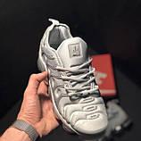 🔥 Кроссовки Nike Air Vapormax Plus Silver Найк Аир Плюс 🔥 Найк мужские кроссовки 🔥, фото 8