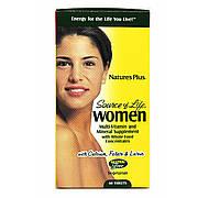 Мультивитамины для Женщин, Source of Life, Natures Plus, 60 таблеток